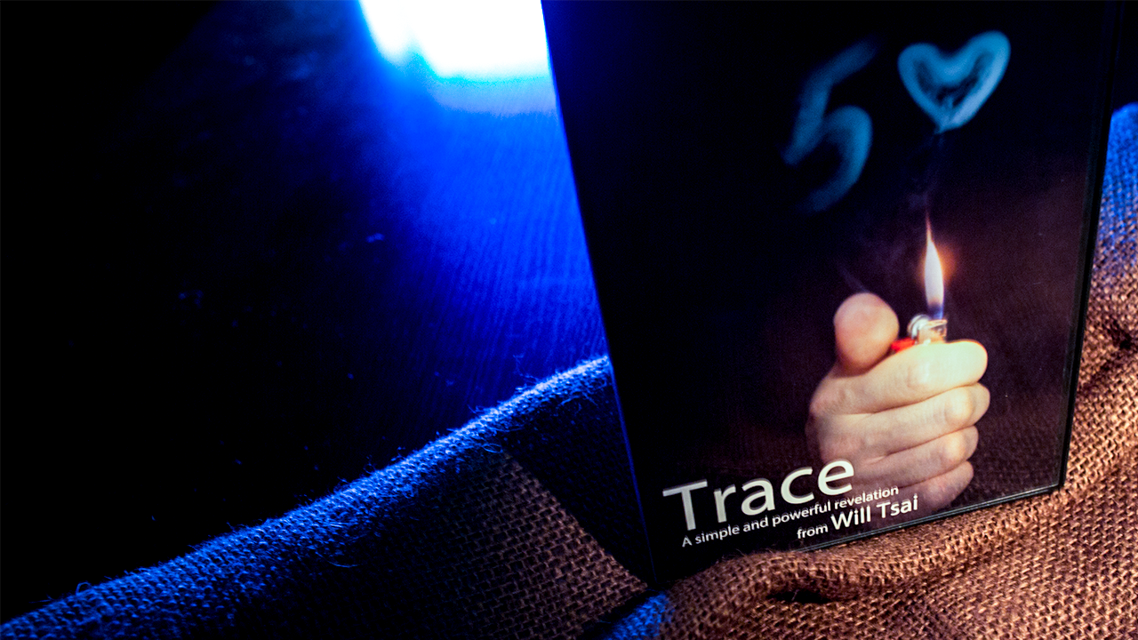 Trace  (Props & DVD)  - Will Tsai & SansMinds - DVD