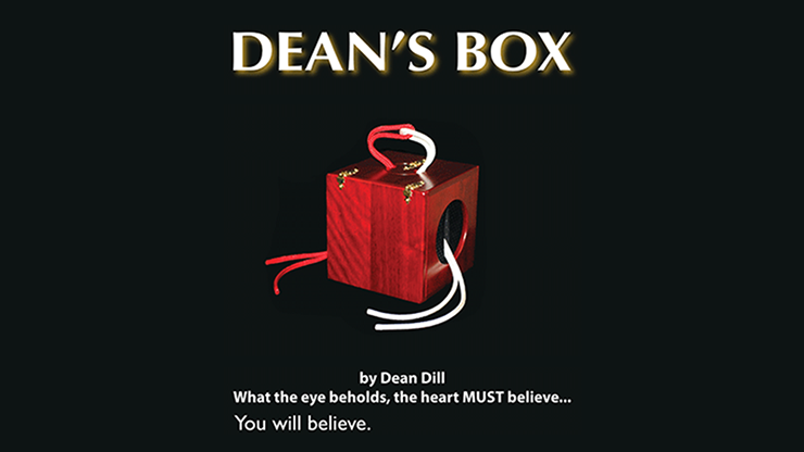 Dean's Box 2.0 (Box, Props and DVD) by Dean Dill - Trick