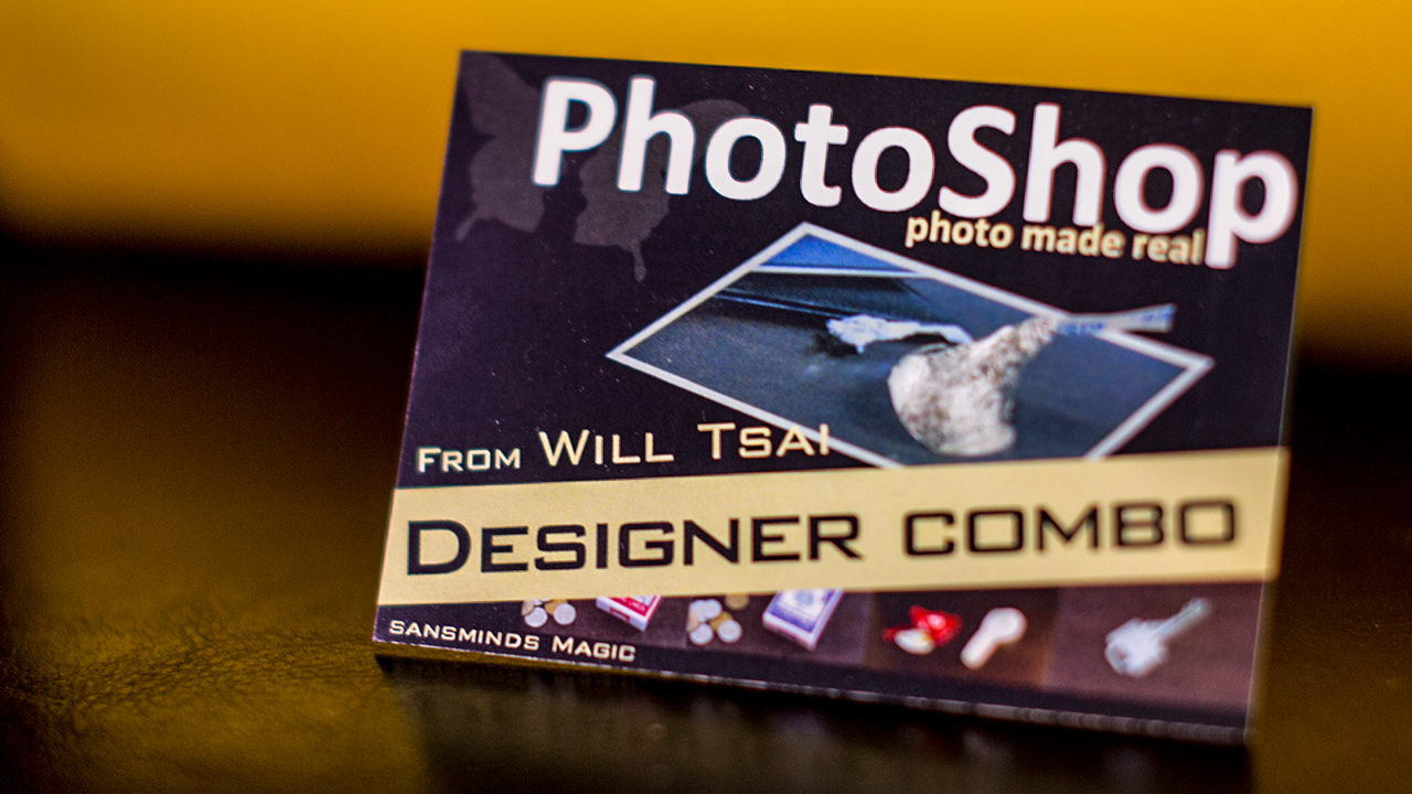 PhotoShop Designer Combo Pack (with Gimmicks) - Will Tsai & SansMinds