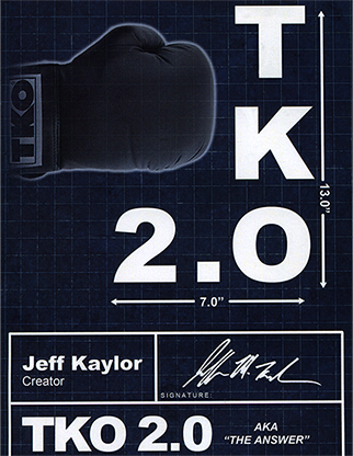 TKO2.0: The Kaylor Option BLACK & WHITE (Book, & Accesorio) - Jeff Kaylor & Michael Ammar - DV