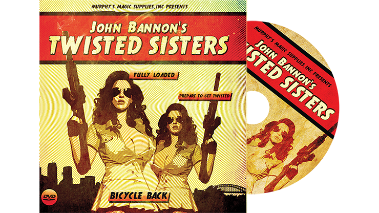 Twisted Sisters 2.0 (DVD and Gimmick) Mandolin Card