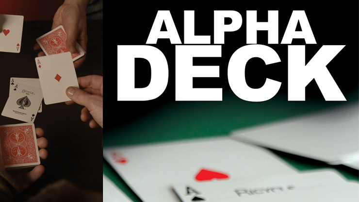 Alpha Deck (Cards and Online Instructions) by Richard Sanders 2-fache Kartenübereinstimmung mit Kill