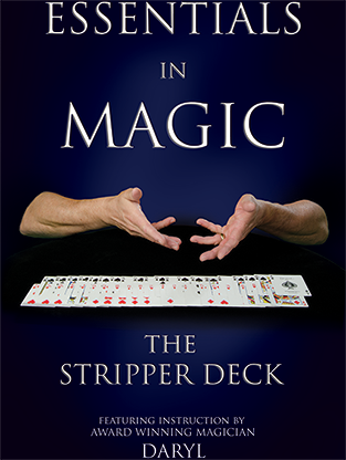 Essentials in Magic - Stripper Deck - English video DOWNLOAD