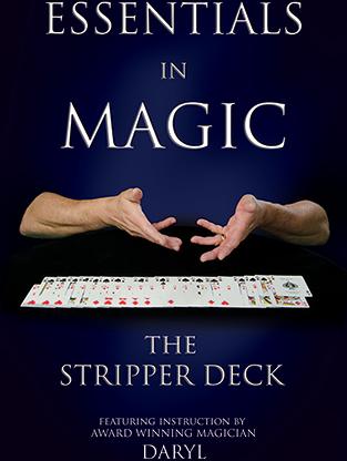 Essentials in Magic - Stripper Deck - Japanese video DOWNLOAD