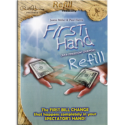 Refill for First Hand (Rubberbands) - Paul Harris Presents
