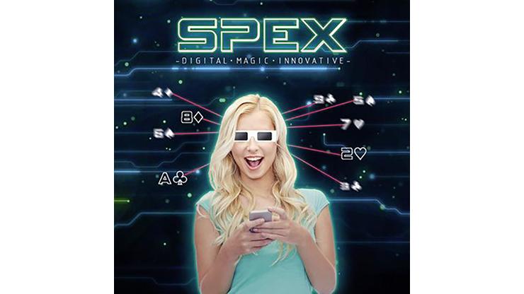 SPEX GLASSES (2 of Hearts Version) by Magic Dream - Trick