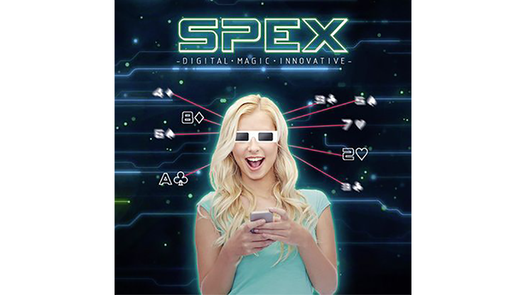 SPEX GLASSES (8 of Diamonds Version) by Magic Dream