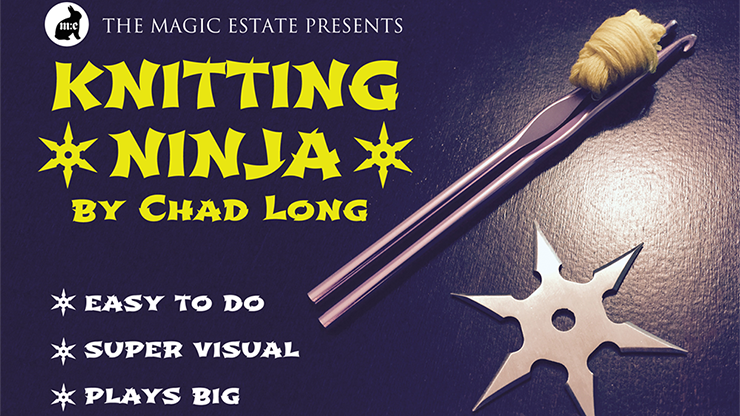 Knitting Ninja by Chad Long - Trick