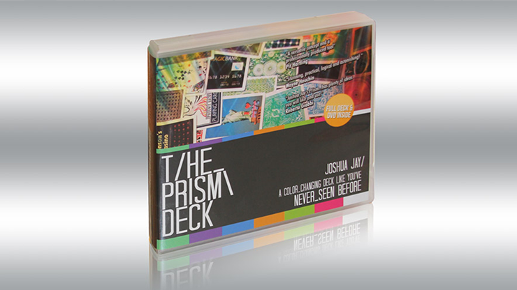 The PRISM Deck (w/DVD) by Joshua Jay and Card-Shark - Trick