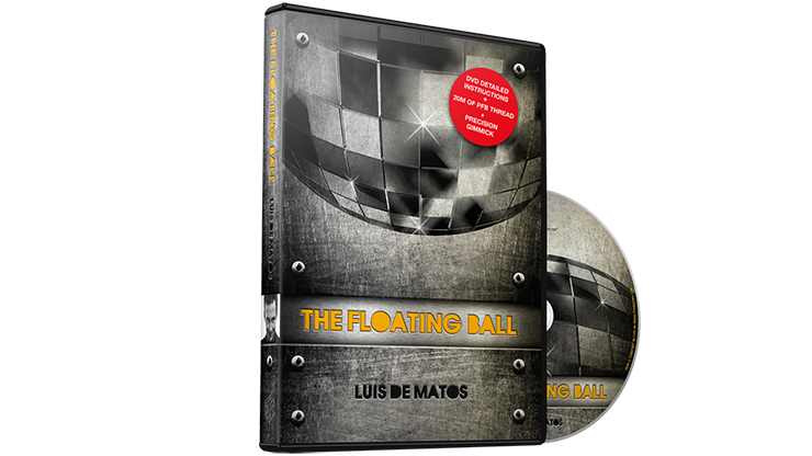 The Floating Ball (DVD and Gimmick for Ball) by Luis De Matos