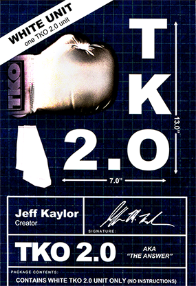 TKO 2.0  By Jeff Kaylor Gimmick only White
