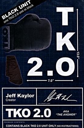TKO 2.0 By Jeff Kaylor Black Gimmick Only