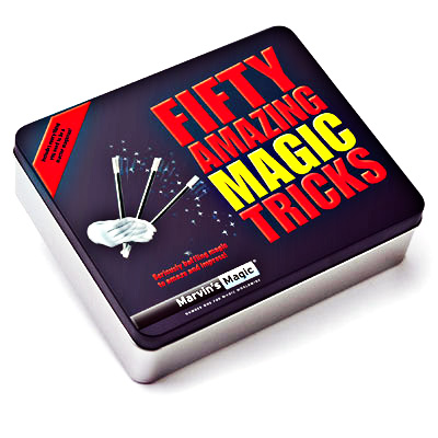 50 Amazing Magic Tricks Tin - Trick