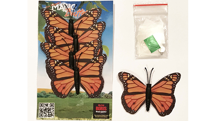 Magic Spider Butterfly Pack - Ian Pidgeon- Trick