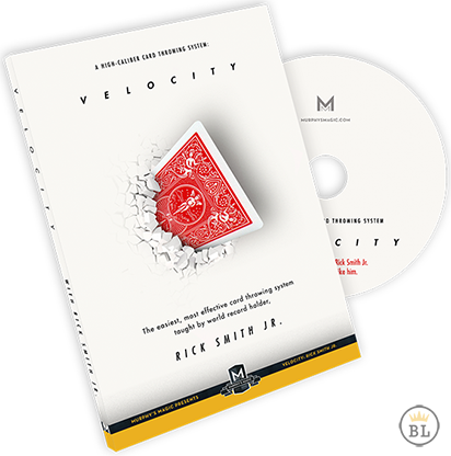 Velocity : High-Caliber Card Throwing System - Rick Smith Jr. - DVD