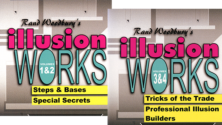 Illusion Works Set (Vol 1-4)  by Rand Woodbury Streaming Video