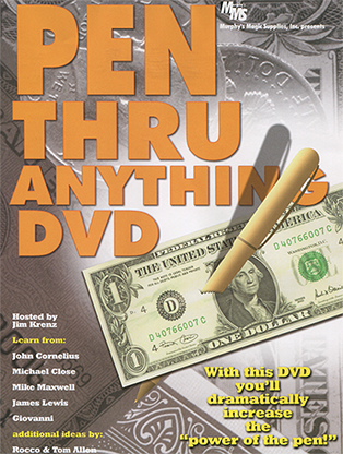Pen Thru Anything Streaming Video