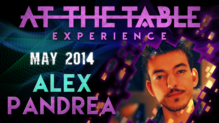 At the Table Live Lecture Alex Pandrea 5/7/2014 video DOWNLOAD