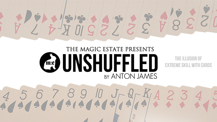 Unshuffled (DVD & Gimmicks) by Anton James Presented by The Magic Estate