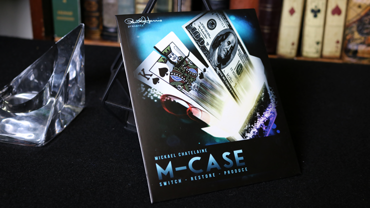M-Case Blue (Gimmick and Online Instructions)