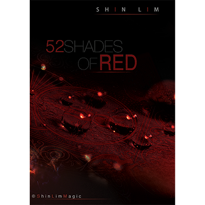 52 Shades of Red (DVD and Gimmicks) by Shin Lim - DVD