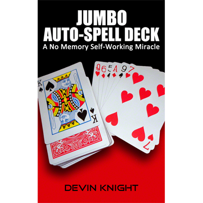 Auto Spell Deck (Jumbo) by Devin Knight