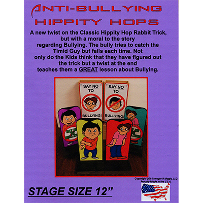 Anti-Bullying Hippity Hops (Large) by Imagin-If Magic - Trick