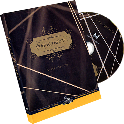 String Theory (DVD & Gimmick) - Vince Mendoza - DVD