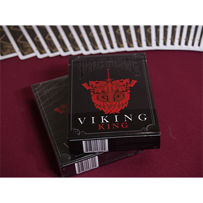Bicycle Viking King (Limited Edition) Deck by Crooked Kings Cards - Trick
