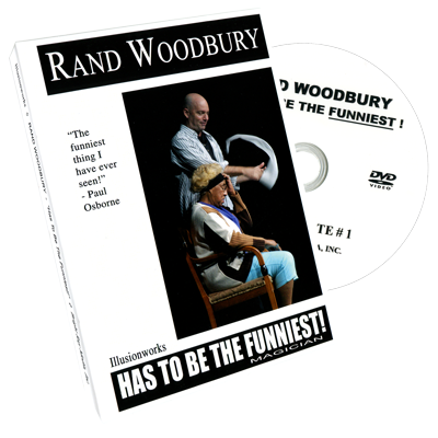Rand Woodbury Has To Be The Funniest Magician - Rand Woodbury - DVD