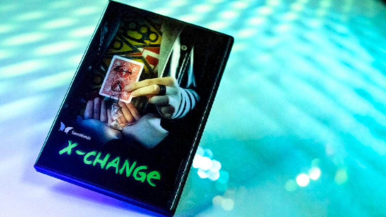 X Change (DVD & Gimmick) - Julio Montoro & SansMinds