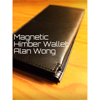 Leather Magnetic Himber Wallet - Alan Wong