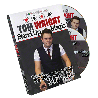 Standup Magic (2 DVD) by Tom Wright and World Magic Shop