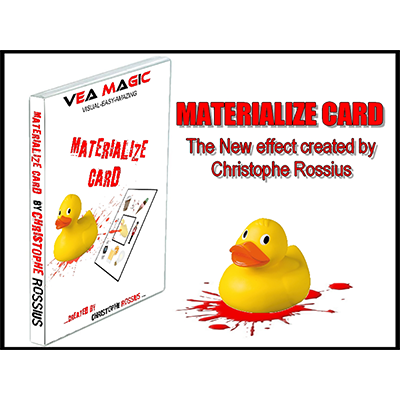 MATERIALIZE CARD Materialize Card by Christophe Rossius - Trick
