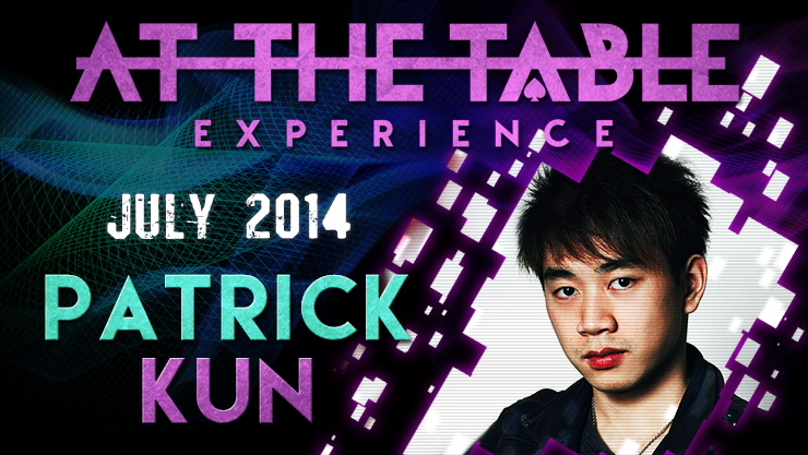 At the Table Live Lecture - Patrick Kun 7/9/2014 - video DOWNLOA