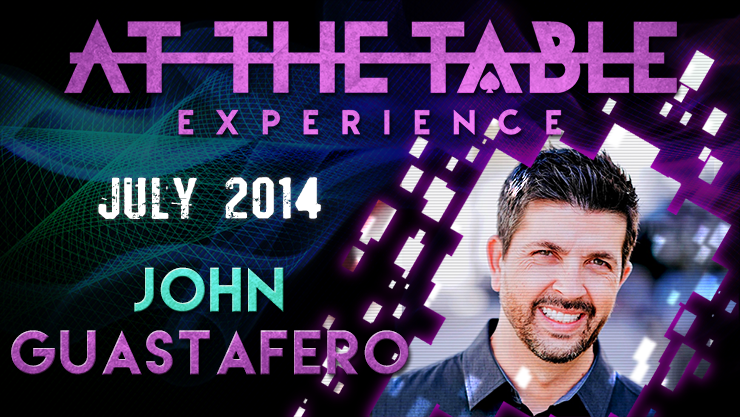 At the Table Live Lecture John Guastaferro 7/23/2014 video DOWNLOAD
