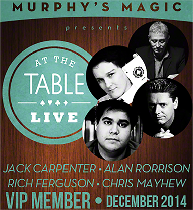 At The Table December 2014 video DOWNLOAD