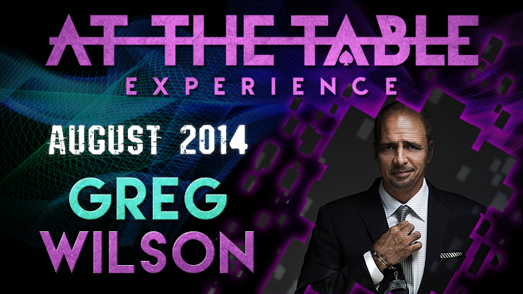 At the Table Live Lecture - Greg Wilson 8/27/2014 - video DOWNLO
