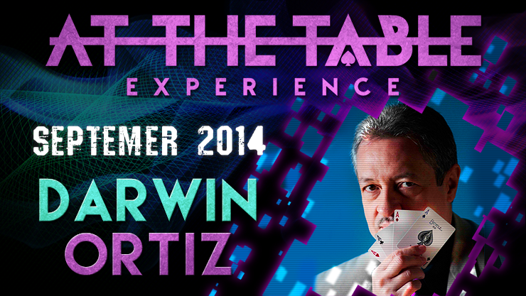 At the Table Live Lecture - Darwin Ortiz September 3rd