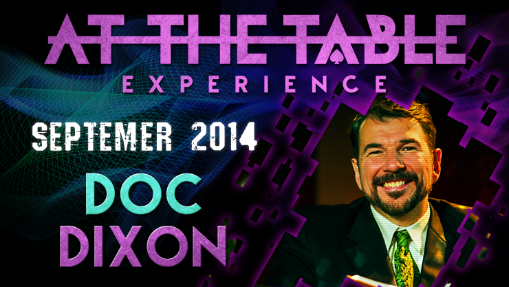 At the Table Live Lecture - Doc Dixon September 17th
