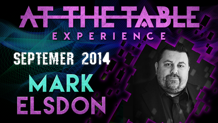 At the Table Live Lecture Mark Elsdon 9/24/2014 video DOWNLOAD