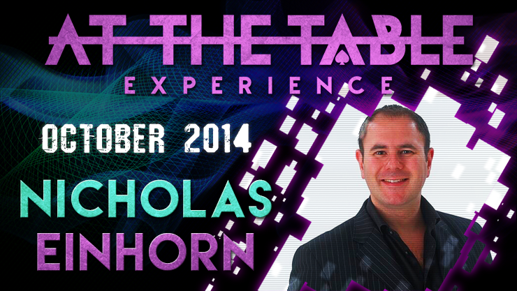 At the Table Live Lecture - Nicholas Einhorn 10/22/2014 - video
