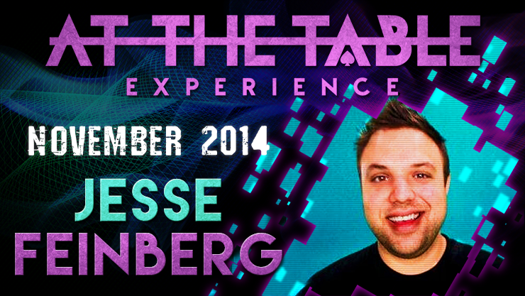 At the Table Live Lecture - Jesse Feinberg November 5th
