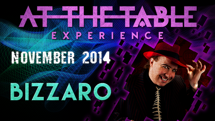 At the Table Live Lecture - Bizzaro November 19th