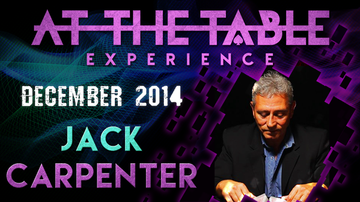 At the Table Live Lecture - Jack Carpenter December 3rd