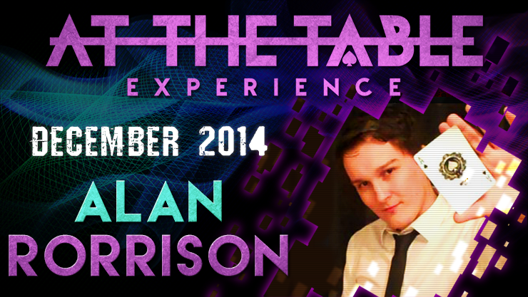 At the Table Live Lecture - Alan Rorrison December 10th