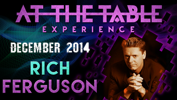 At the Table Live Lecture - Rich Ferguson December 17th
