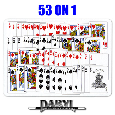 53 On 1  (RED BACK) by Daryl - Trick