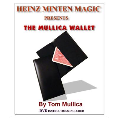 Trick-in-Brieftasche-in-Brieftasche Mullica Wallet (with DVD) by Heinz Minten & Tom Mullica - Zauber