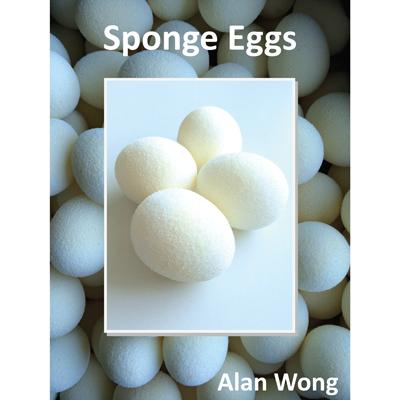 Sponge Eggs (4pk.) by Alan Wong